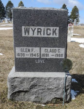 WYRICK, GLEN F. - Dubuque County, Iowa | GLEN F. WYRICK