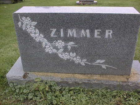 ZIMMER, FAMILY MONUMENT - Dubuque County, Iowa | FAMILY MONUMENT ZIMMER