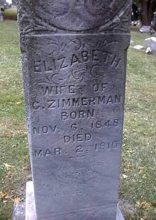 ZIMMERMAN, ELIZABETH - Dubuque County, Iowa | ELIZABETH ZIMMERMAN