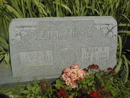 ZURCHER, ROSA B. - Dubuque County, Iowa | ROSA B. ZURCHER