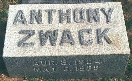 ZWACK, ANTHONY - Dubuque County, Iowa   ANTHONY ZWACK