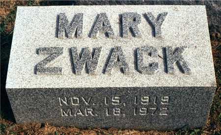 ZWACK, MARY - Dubuque County, Iowa | MARY ZWACK