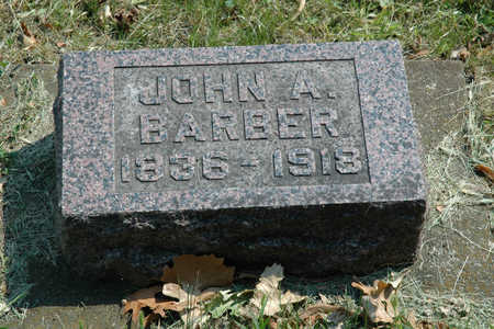 BARBER, JOHN A. - Emmet County, Iowa | JOHN A. BARBER