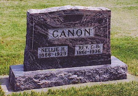 CANON, CORNELIUS B. - Emmet County, Iowa | CORNELIUS B. CANON