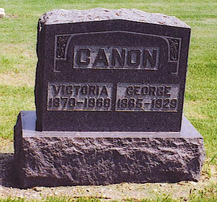 CANON, GEORGE - Emmet County, Iowa | GEORGE CANON
