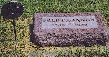 CANON, FRED - Emmet County, Iowa | FRED CANON