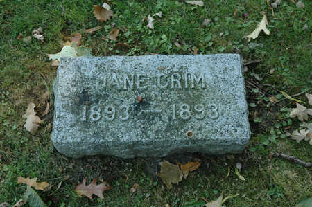 CRIM, JANE - Emmet County, Iowa | JANE CRIM