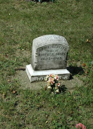 REDPATH DODDS, ANNIE - Emmet County, Iowa | ANNIE REDPATH DODDS