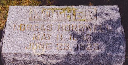 HORSWELL, DORCAS - Emmet County, Iowa | DORCAS HORSWELL