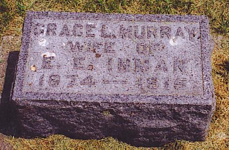 MURRAY INMAN, GRACE LILLIE - Emmet County, Iowa | GRACE LILLIE MURRAY INMAN