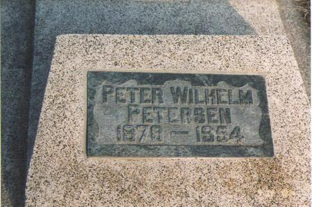 PETERSEN, PETER WILHELM - Emmet County, Iowa | PETER WILHELM PETERSEN