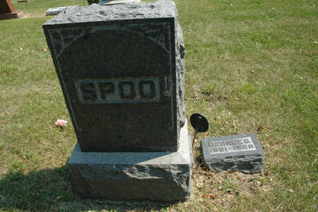 SPOO, GEORGE - Emmet County, Iowa | GEORGE SPOO