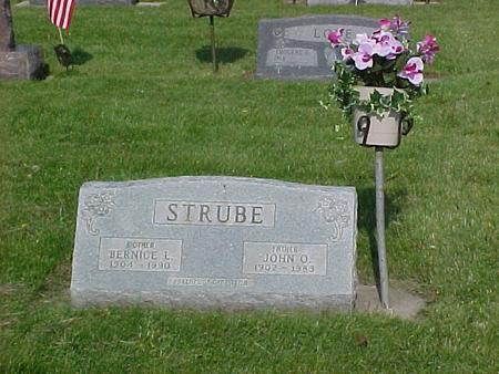 SPENCER STRUBE, BERNICE - Emmet County, Iowa | BERNICE SPENCER STRUBE