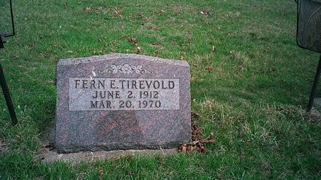 TIREVOLD, FERN E. - Emmet County, Iowa | FERN E. TIREVOLD