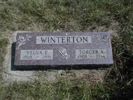 WINTERTON, TORGER A - Emmet County, Iowa | TORGER A WINTERTON