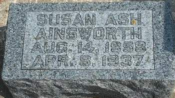 AINSWORTH, SUSAN T. - Fayette County, Iowa | SUSAN T. AINSWORTH