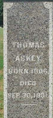 ASKEY, THOMAS - Fayette County, Iowa | THOMAS ASKEY