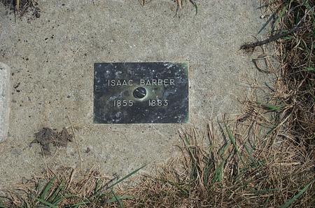 BARBER, ISAAC - Fayette County, Iowa | ISAAC BARBER