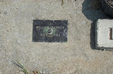 BARBER, WILLIAM - Fayette County, Iowa | WILLIAM BARBER