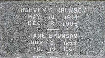 MCCOOL BRUNSON, JANE - Fayette County, Iowa | JANE MCCOOL BRUNSON