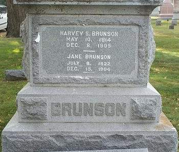 BRUNSON, JANE - Fayette County, Iowa | JANE BRUNSON