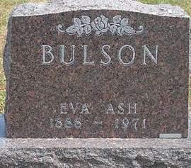 ASH BULSON, EVA ARLIE - Fayette County, Iowa | EVA ARLIE ASH BULSON
