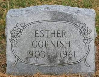 LARSON CORNISH, ESTHER COOLEY - Fayette County, Iowa | ESTHER COOLEY LARSON CORNISH
