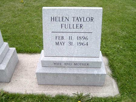 TAYLOR  FULLER, HELEN - Fayette County, Iowa | HELEN TAYLOR  FULLER