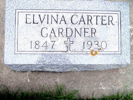 CARTER GARDNER, ELVINA - Fayette County, Iowa | ELVINA CARTER GARDNER