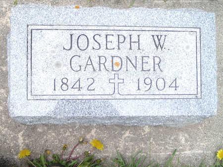 GARDNER, JOSEPH W. - Fayette County, Iowa | JOSEPH W. GARDNER