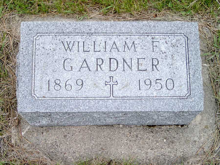 GARDNER, WILLIAM - Fayette County, Iowa | WILLIAM GARDNER