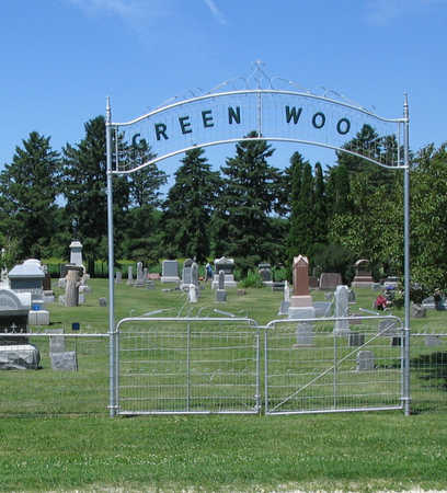 GREENWOOD, CEMETERY - Fayette County, Iowa | CEMETERY GREENWOOD