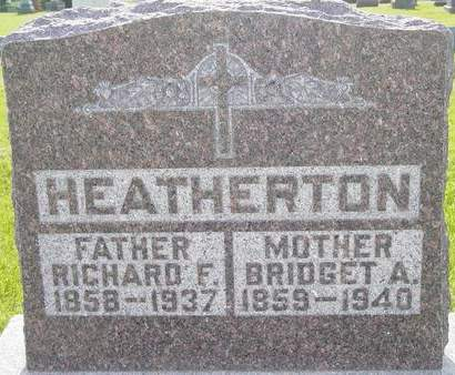 HEATHERTON, RICHARD F.  - Fayette County, Iowa | RICHARD F.  HEATHERTON