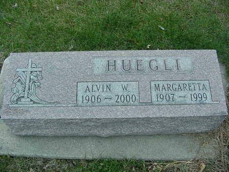 HUEGLI, ALVIN AND MARGARETTA - Fayette County, Iowa | ALVIN AND MARGARETTA HUEGLI
