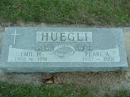 HUEGLI, EMIL AND PEARL - Fayette County, Iowa | EMIL AND PEARL HUEGLI