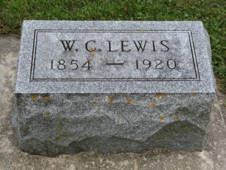 LEWIS, W. C. - Fayette County, Iowa   W. C. LEWIS