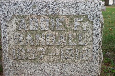 FOLAND RANDALL, ADDIE - Fayette County, Iowa | ADDIE FOLAND RANDALL