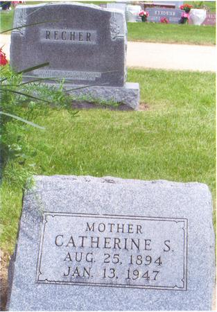 BEILE RECHER, CATHERINE - Fayette County, Iowa | CATHERINE BEILE RECHER