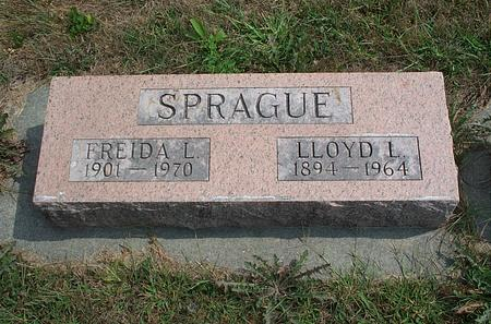 SPRAGUE, FRIEDA L. - Fayette County, Iowa | FRIEDA L. SPRAGUE