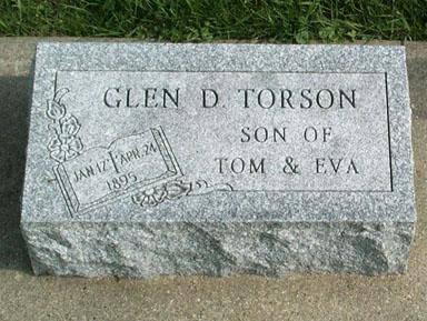 TORSON, GLEN D. - Fayette County, Iowa | GLEN D. TORSON