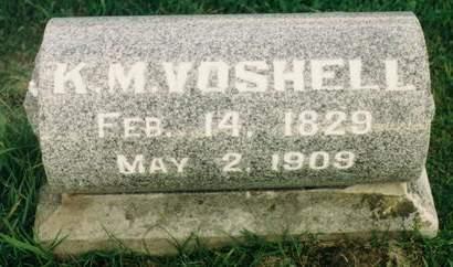 VOSHELL, KILLEN M. - Fayette County, Iowa | KILLEN M. VOSHELL
