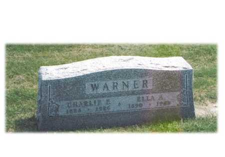 BECKER WARNER, ELLA A. - Fayette County, Iowa | ELLA A. BECKER WARNER