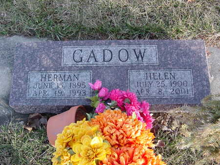 GADOW, HELEN - Fayette County, Iowa | HELEN GADOW