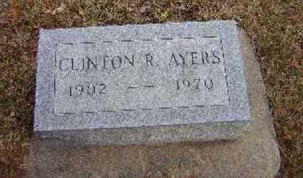 AYERS, CLINTON R. - Floyd County, Iowa | CLINTON R. AYERS