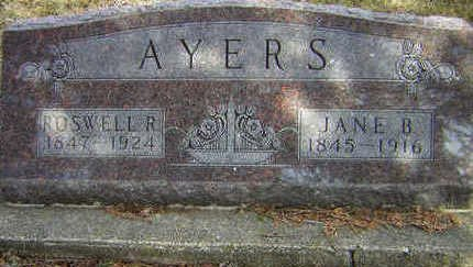 AYERS, JANE B. - Floyd County, Iowa | JANE B. AYERS