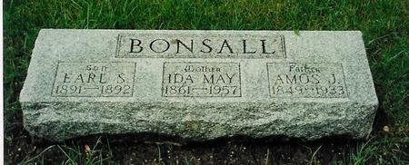 BONSALL, EARL S. - Floyd County, Iowa | EARL S. BONSALL