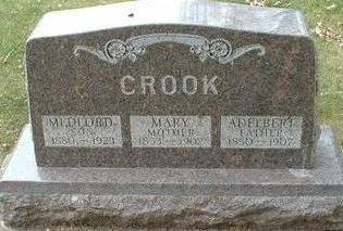 OYER CROOK, MARY - Floyd County, Iowa | MARY OYER CROOK