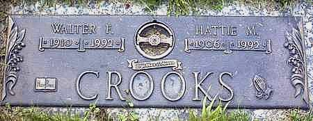 CROOKS, HATTIE M. - Floyd County, Iowa | HATTIE M. CROOKS