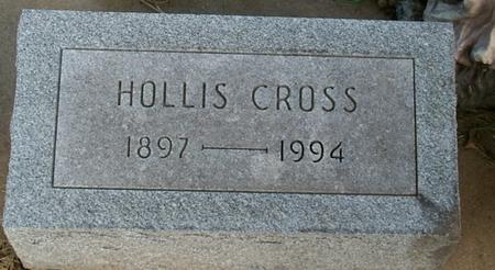 CROSS, HOLLIS - Floyd County, Iowa | HOLLIS CROSS