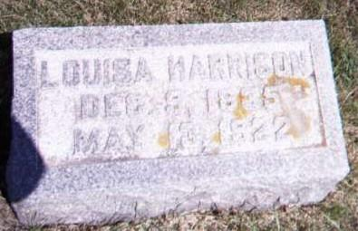 HARRISON, LOUISA - Floyd County, Iowa | LOUISA HARRISON